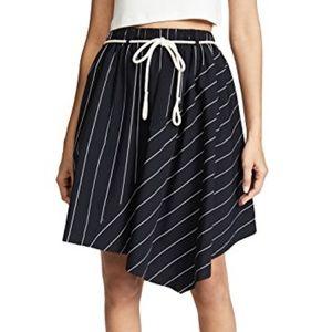 NWT Vince Asymmetric Skirt with pockets